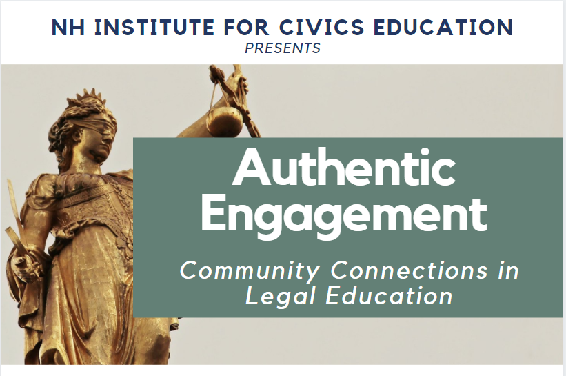 Authentic Engagement: Community Connections in Legal Education