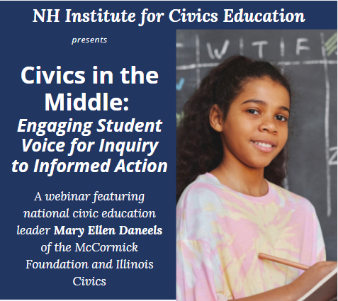 Civics in the Middle: Engaging Student Voice for Inquiry to Informed Action