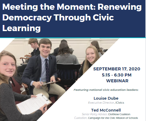 Meeting the Moment: Renewing Democracy Through Civic Learning